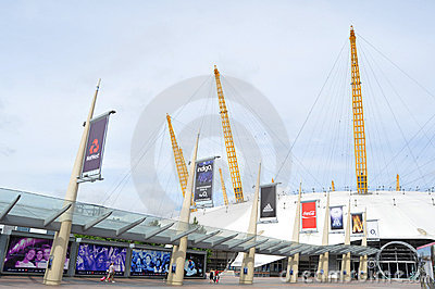 The O2 Arena Editorial Photography