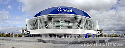 O2 arena in Berlin Editorial Stock Photo