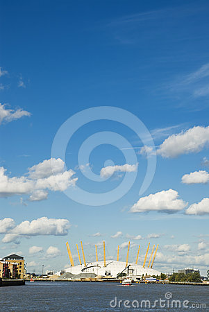 O2 Arena. London Royalty Free Stock Image - Image: 24482806