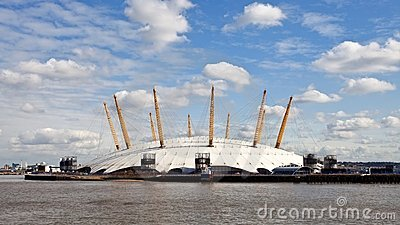 O2 Arena Millennium Dome in London