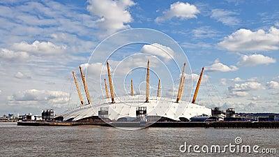 O2 Arena Millennium Dome in London