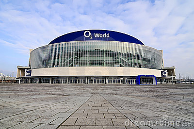 O2 world berlin Editorial Photo