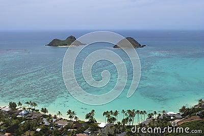 Oahu Mokulua Islands Lanikai Pillbox View