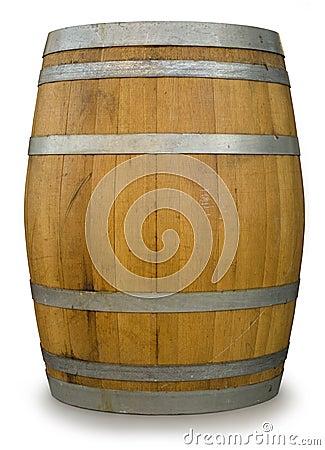 Free Oak Barrel Stock Photography - 4619572