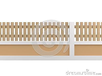 Oak fence