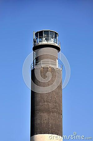Oak Island Lighthouse Detail