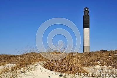 Oak Island Lighthouse Horizontal