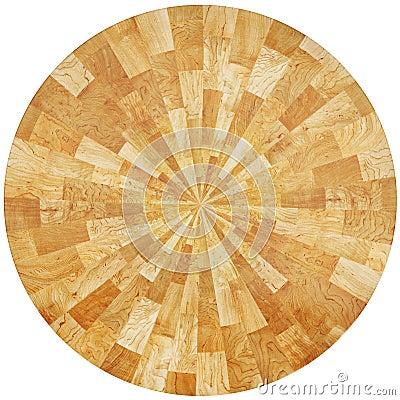 Oak pieces table
