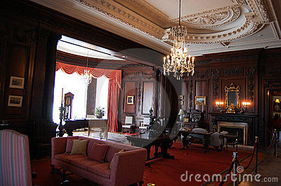 Oak Room in Casa Loma Castle, Toronto Editorial Photography