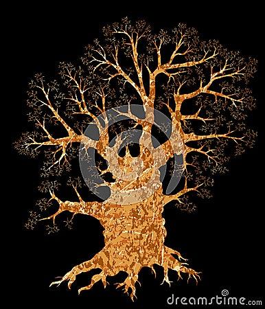 Free Oak Tree Royalty Free Stock Photo - 5269865