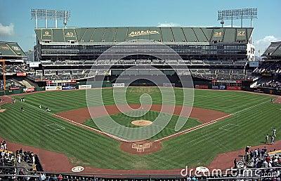 Oakland Coliseum A s Baseball Stadium