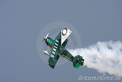 Oakley Stunt Plane Editorial Photo