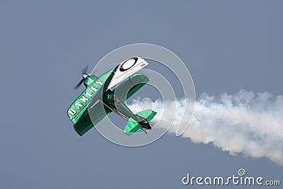 Oakley Stunt Plane Editorial Photo