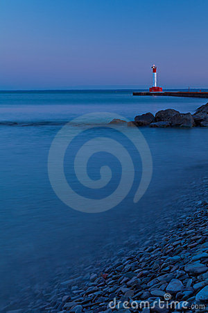 Oakville Lighthouse Evening Light