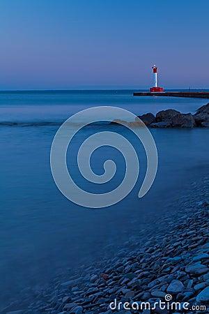 Oakville Lighthouse Evening Light
