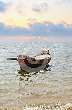 Oared boat