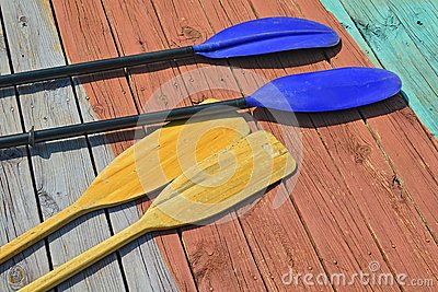 Oars and Paddles
