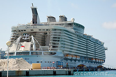 Oasis of the Seas Editorial Photography