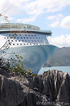 Oasis of the Seas Cruise Ship Editorial Stock Photo