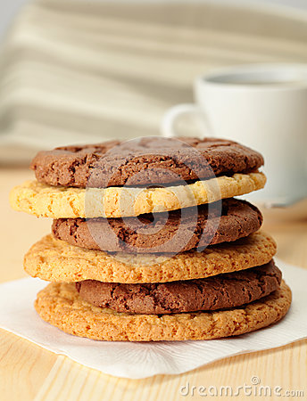 Oat cookies and Chocolate cookies