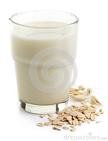 Free Oat Milk Stock Photography - 56880732