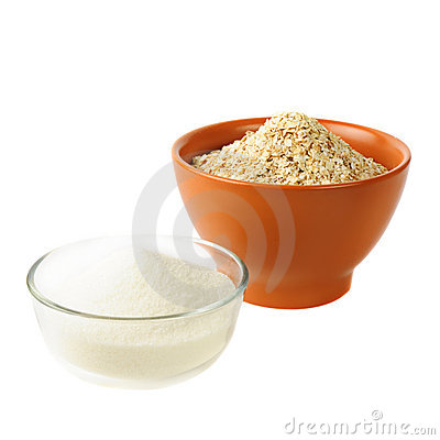 Oat and sugar: carbohydrate foods