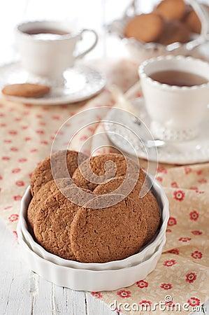 Free Oatmeal Cookie Stock Photo - 27961780