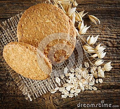 Free Oatmeal Cookie Stock Photos - 41329493