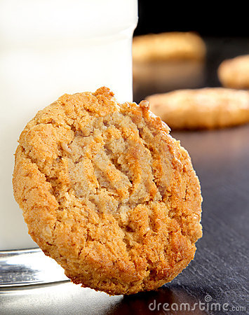 Free Oatmeal Cookie Stock Photography - 4425472