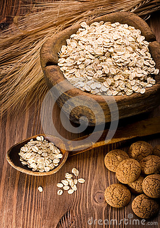 Oatmeal and cookies