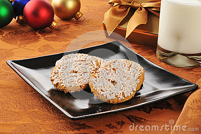 Oatmeal cookies at Christmas