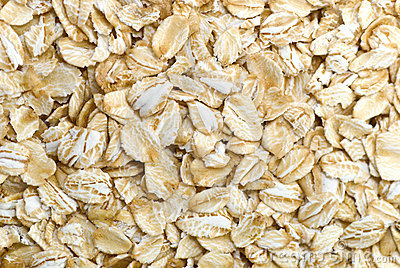 Oatmeal grains