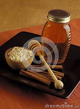Oatmeal, Honey and Cinnamon