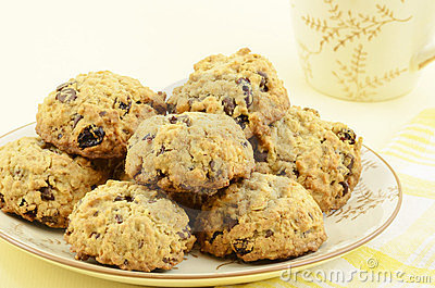 Oatmeal raisin chocolate chip cookies