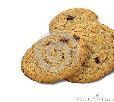 Free Oatmeal Raisin Cookies Royalty Free Stock Photography - 4630837