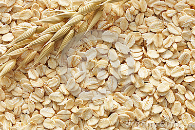 Oats background