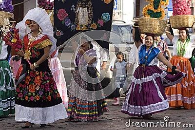 Oaxaca妇女 编辑类图片