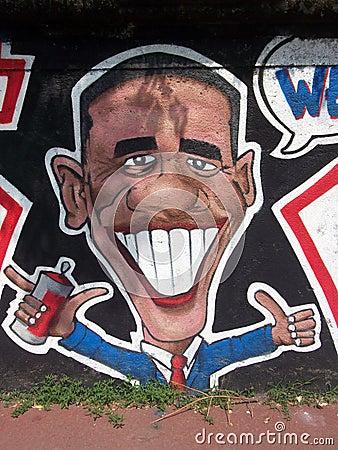 Obama Editorial Stock Photo