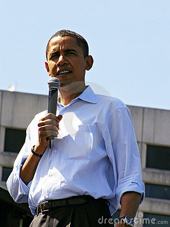 Obama Editorial Photo