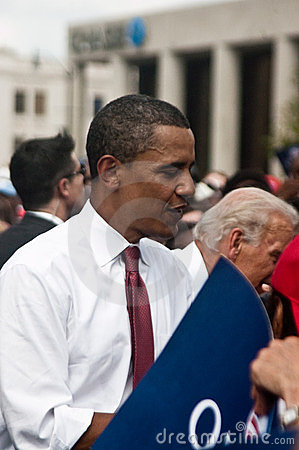 Obama Biden Editorial Stock Image