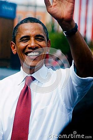 Obama Biden Editorial Stock Photo