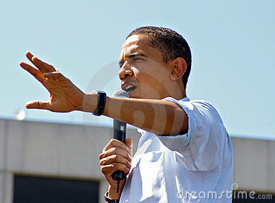 Obama Hope Editorial Stock Image