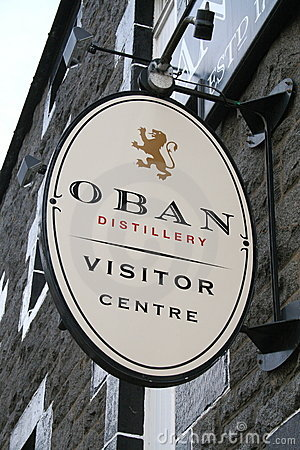 Oban Distillery & visitor centre Editorial Stock Image