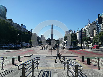 Obelisk , Buenos Aires city, Argentina Editorial Image
