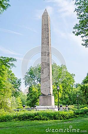 Obelisk in Central Park, New York