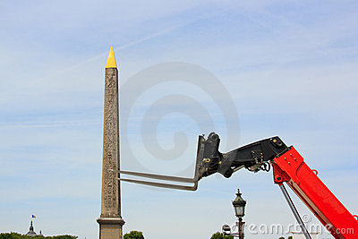 Obelisk of concorde kidnapping