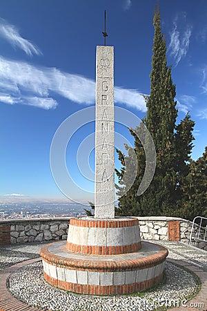 Obelisk at Granada