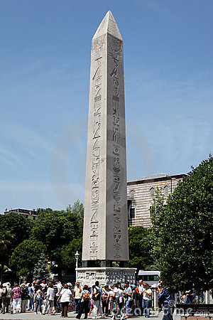 The Obelisk of Istanbul Editorial Photo