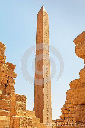 Obelisk of Queen Hapshetsut in Karnak