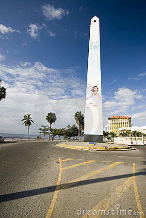 Free Obelisk Santo Domingo Stock Photography - 2781622